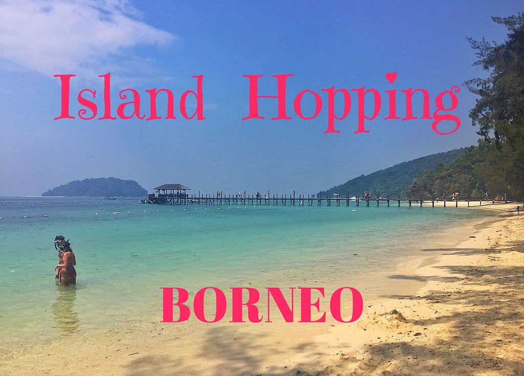 Island hopping borneo
