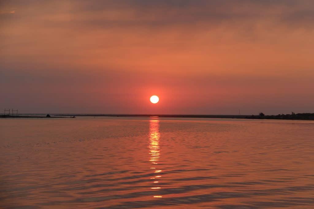Sunset on the Little Kinabatangan