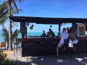 Anantara Bophut Samui beach bar