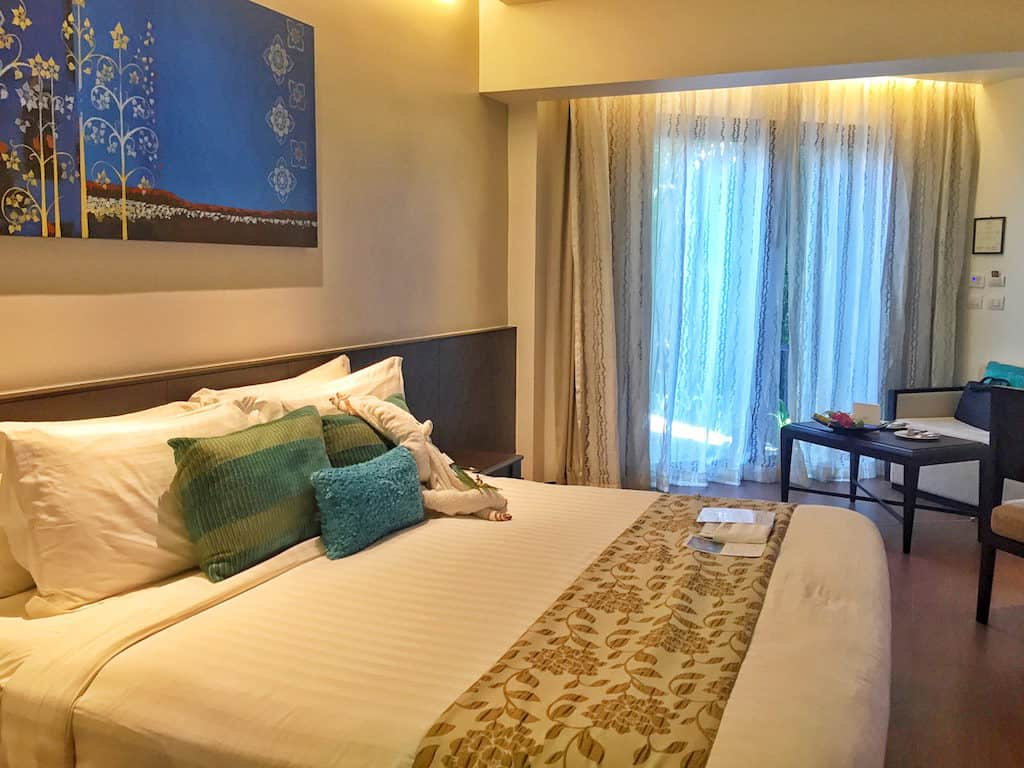 Anantara Bophut Samui bedroom