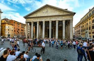 Pantheon Rome with kids