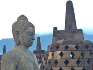 Borobudur Temple Buddha