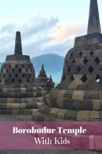 Borobudur with kids