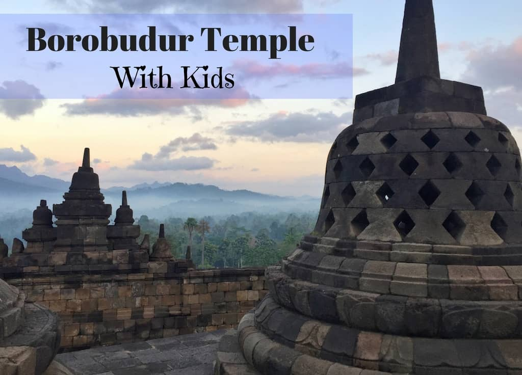Visiting Borobudur with kids