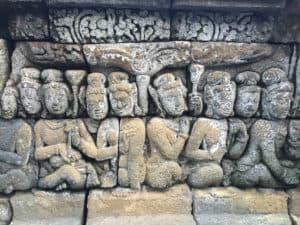 Reliefs on Borobudur Temple