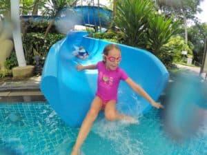 Shangri-La Rasa Sentosa resort water slide