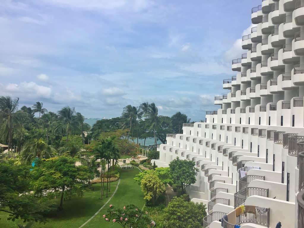 Shangri-La Rasa Sentosa Resort view from bedroom
