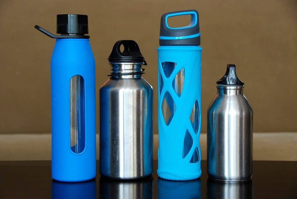 travel water bottles are a great way to stay healthy when traveling