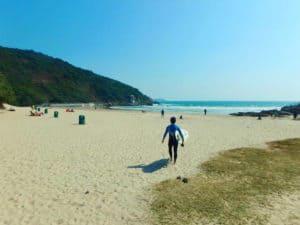 Big Wave Bay Beach Hong Kong