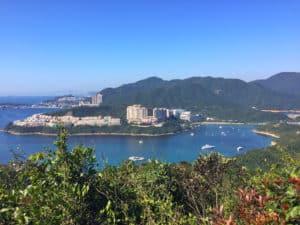 Hiking the Dragon's Back Hong Kong