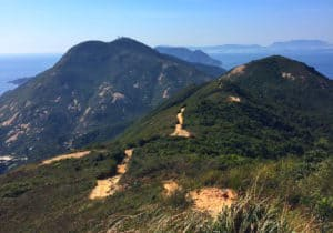 Hiking the Dragons Back Hong Kong