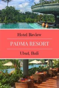 Hotel review Padma Resort Ubud Bali