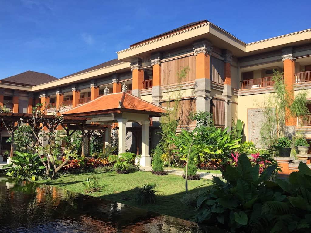 Padma Resort Ubud grounds