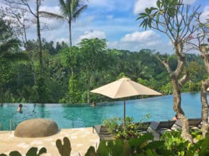 Padma resort ubud swimming pool
