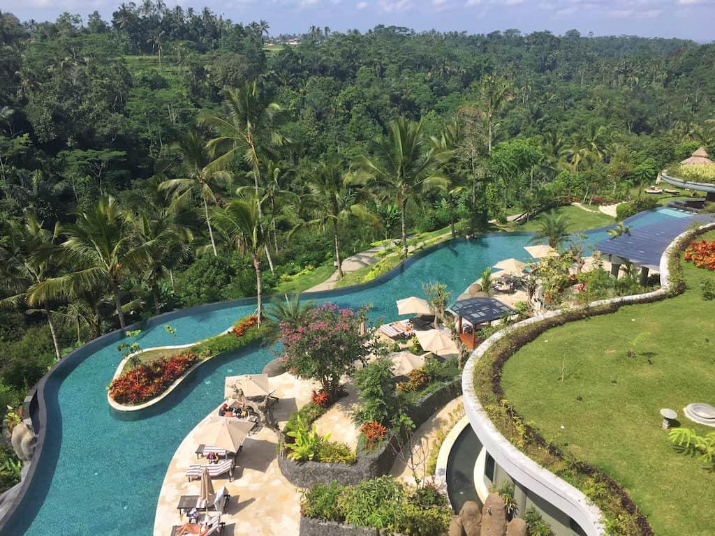Padma resort ubud swimming pool