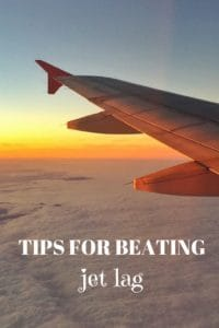 Tips for beating jet lag