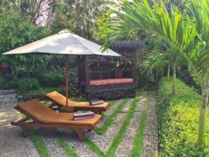 Villa Borobudur garden