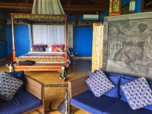 Villa Borobudur bedroom