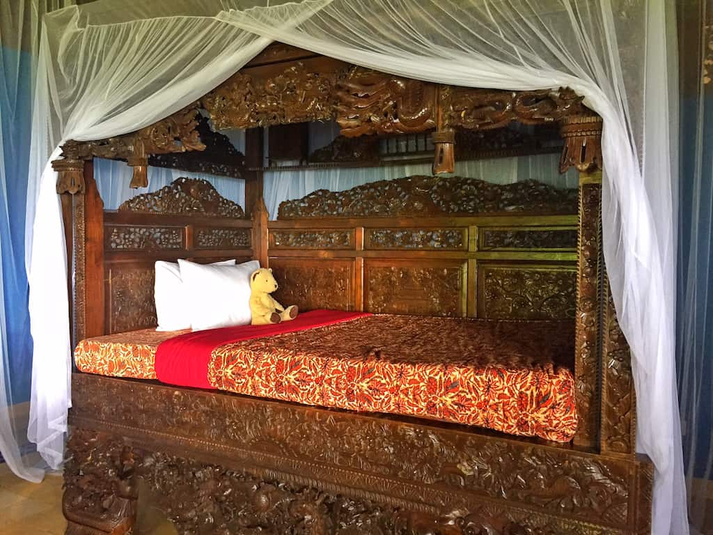 Villa Borobudur bedroom