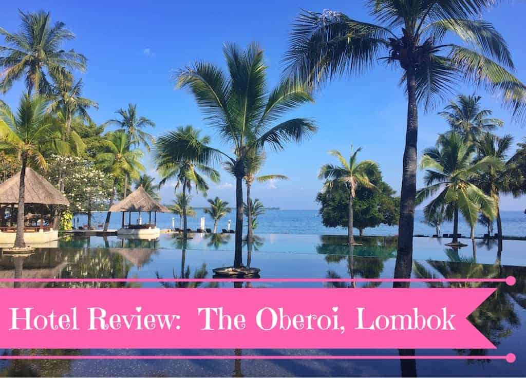 Hotel review the oberoi lombok mum on the move - Lombok dive resort ...
