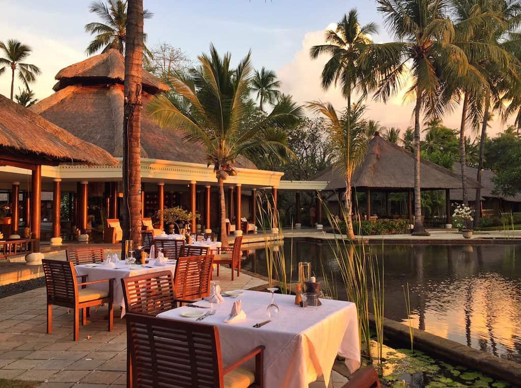 Oberoi Lombok Lumbung Restaurant