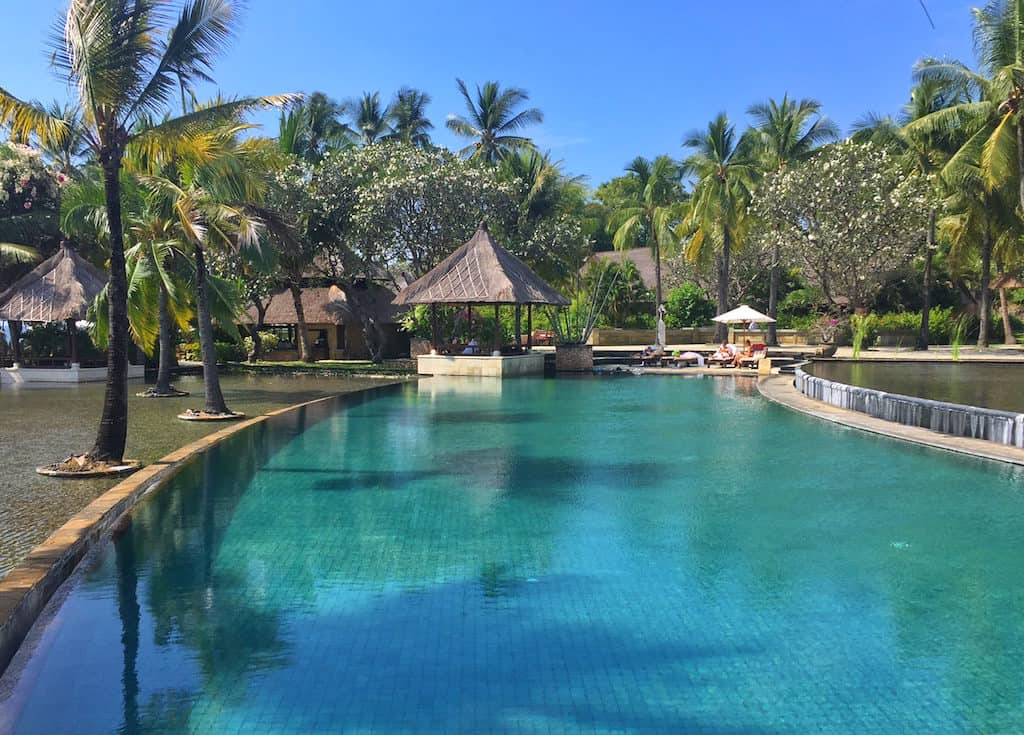 Oberoi Lombok swimming pool