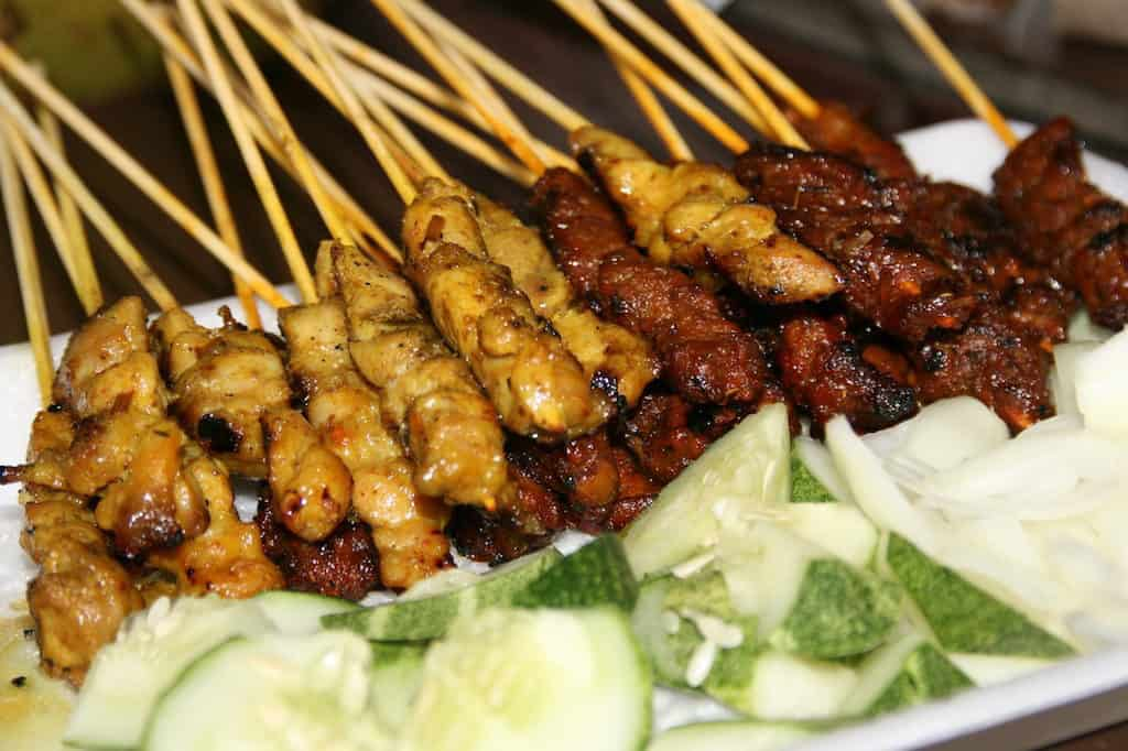 Satay at Lau Pa Sat