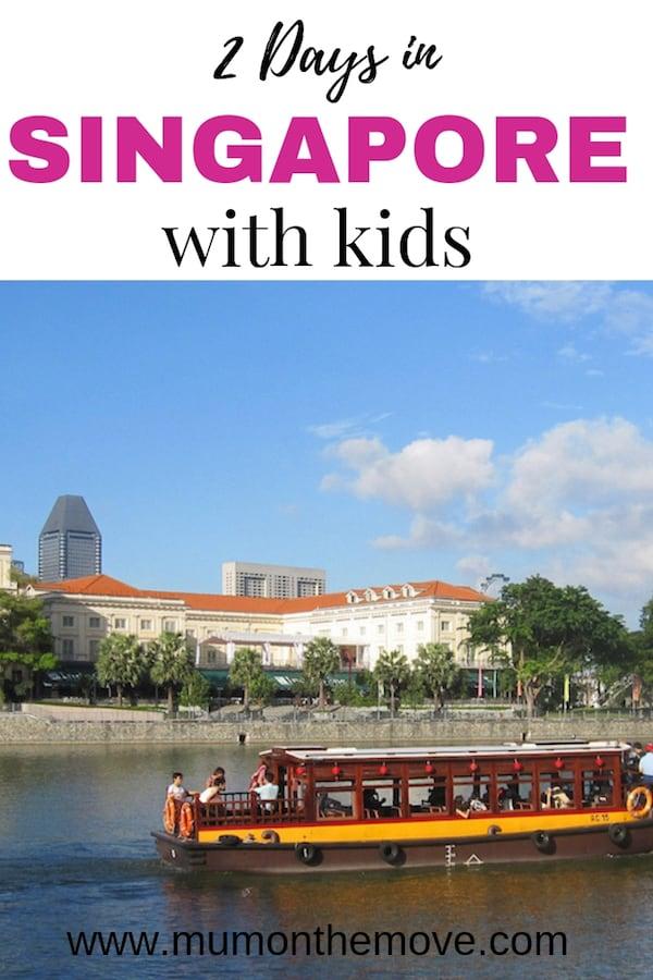 Singapore 2 days Itinerary