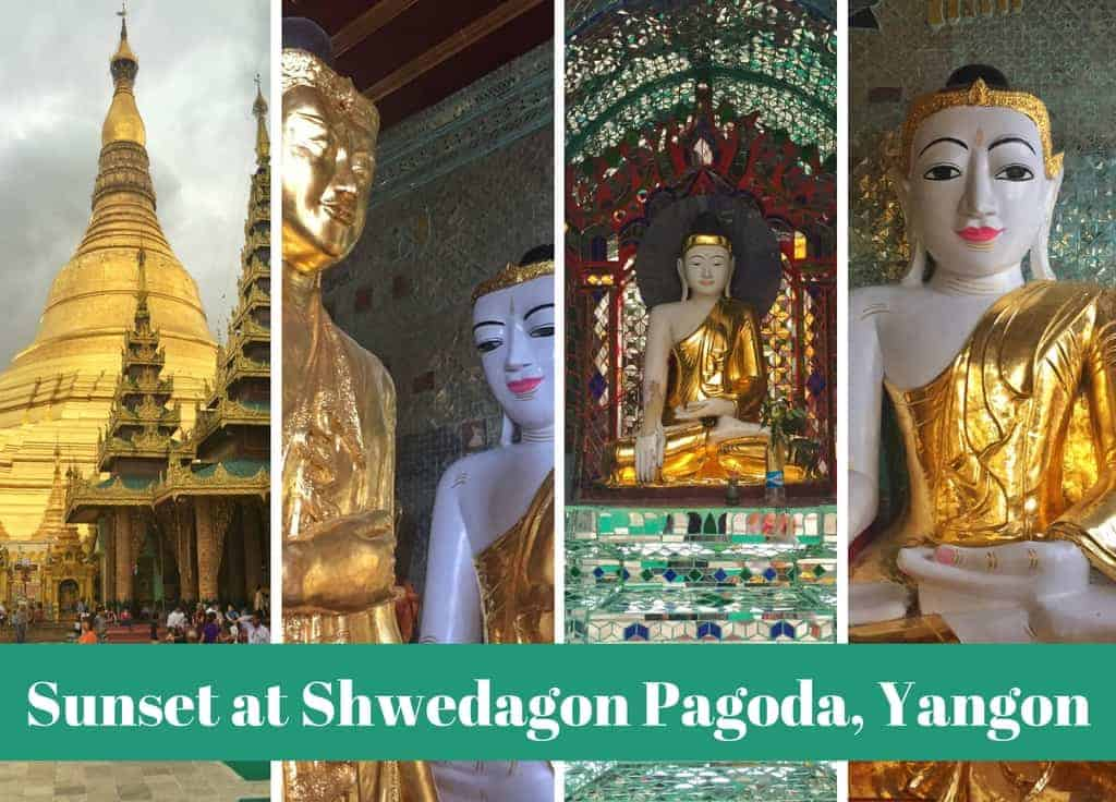 Shwedagon Pagoda with Kids