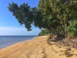 Oberoi Lombok beach