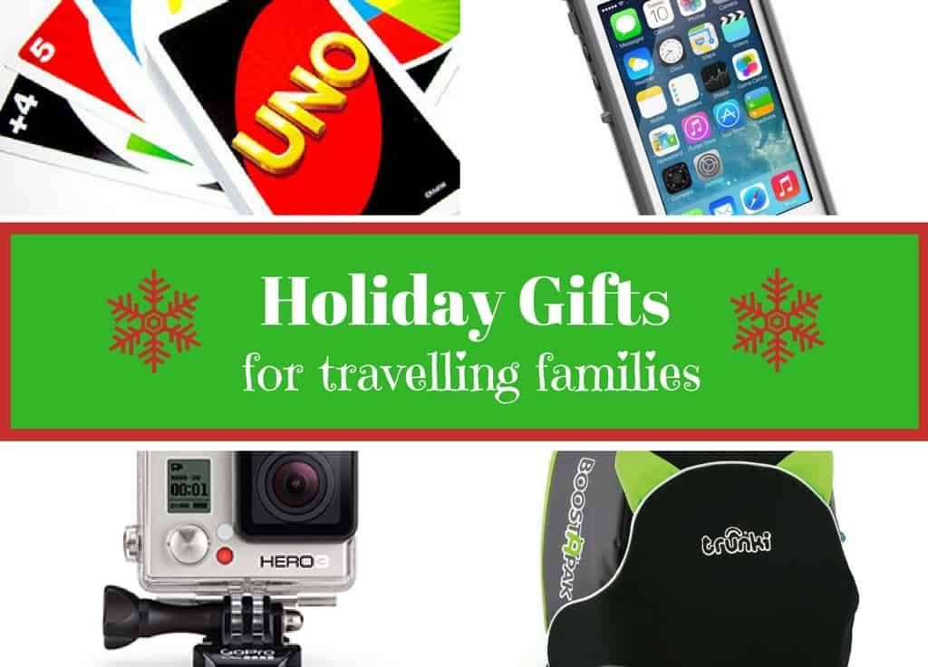 Holiday gifts for travelling families