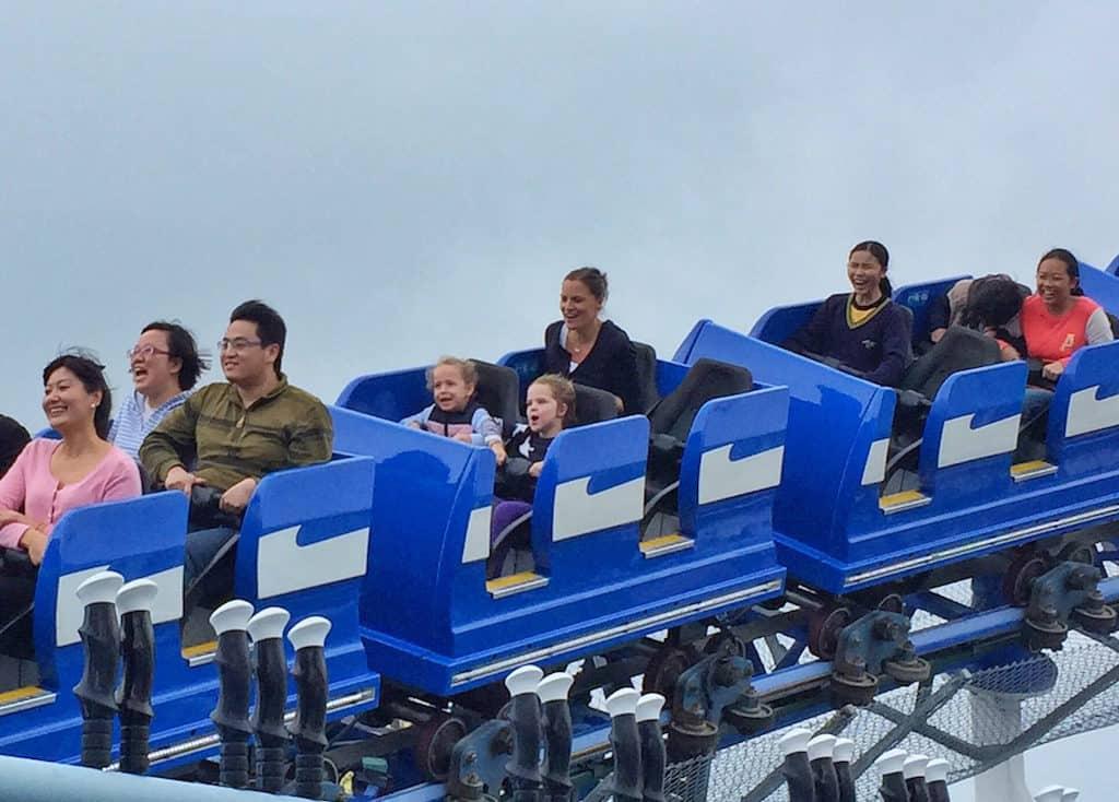Ocean Park Rollercoaster