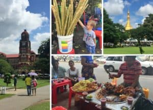Yangon Colonial District