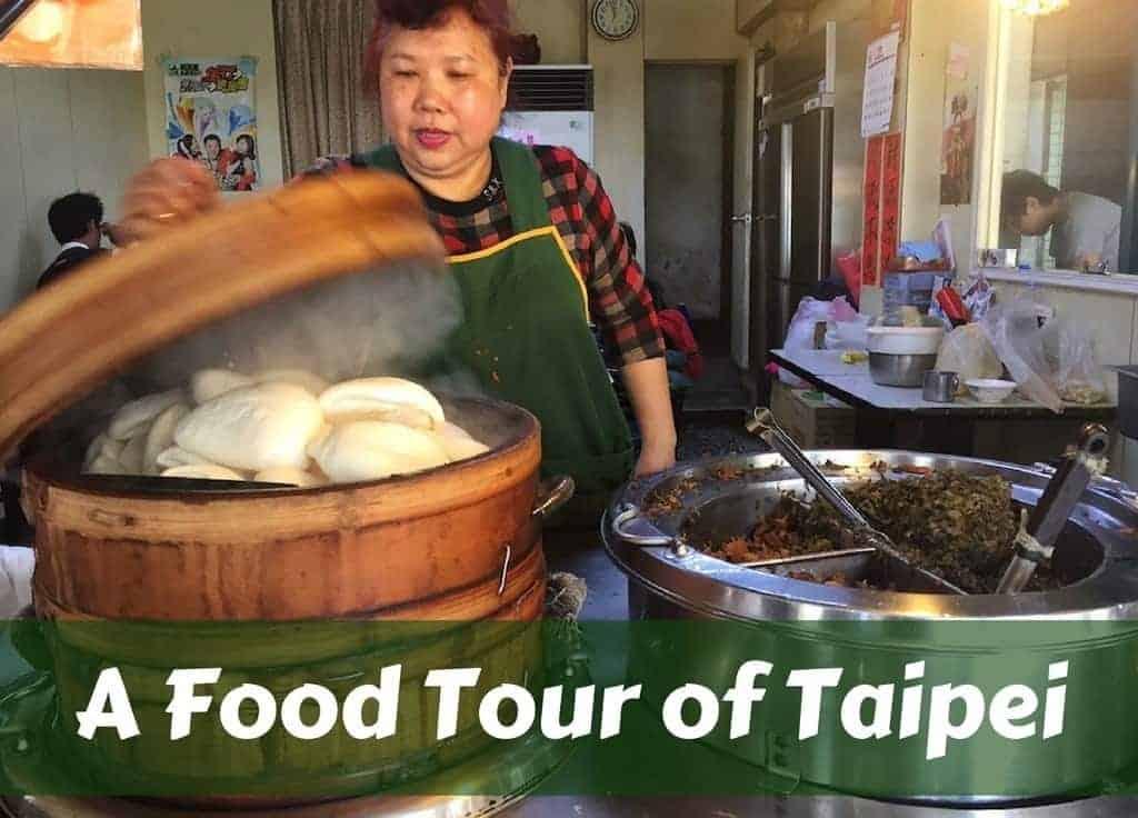 A food tour of Taipei