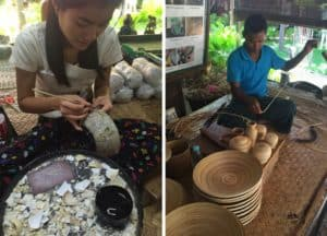 Bagan lacquerware workshop