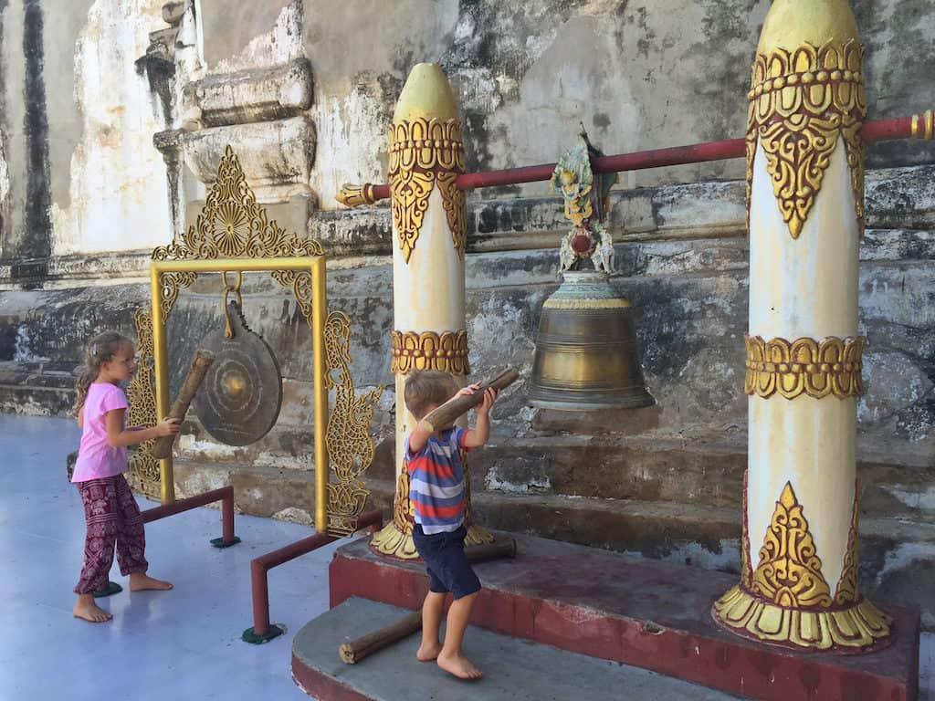 Bagan temple bells