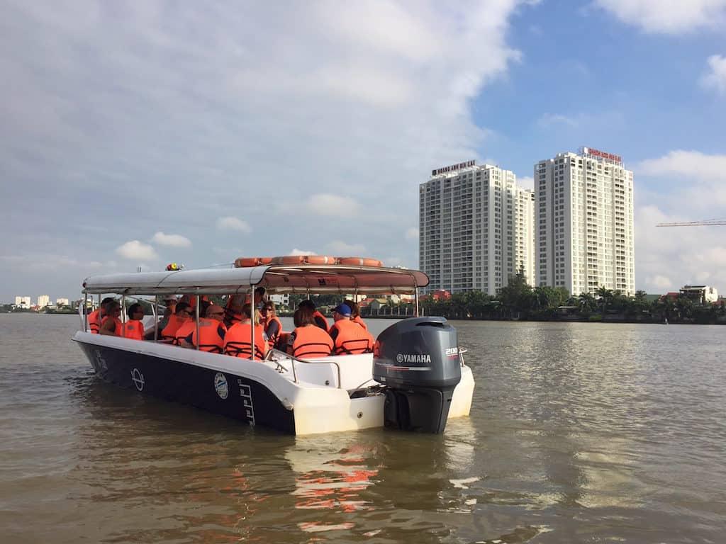 Cu Chi Tunnels boat trip