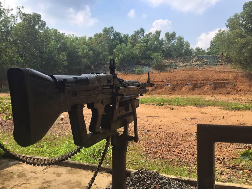 Cu Chi tunnels firing range