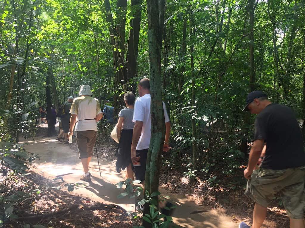 Cu Chi Tunnels jungle