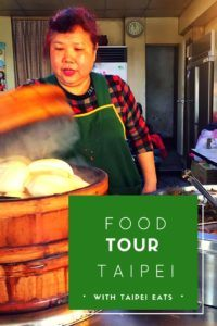 Food tour of Taipei