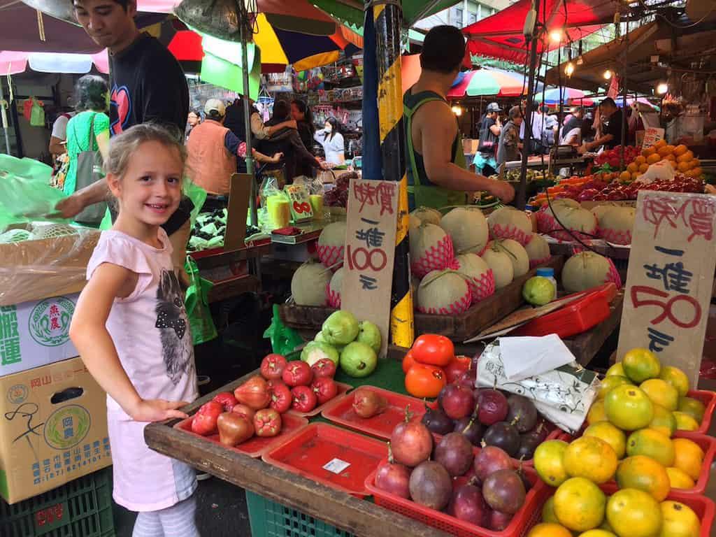 Hullin street market taipei