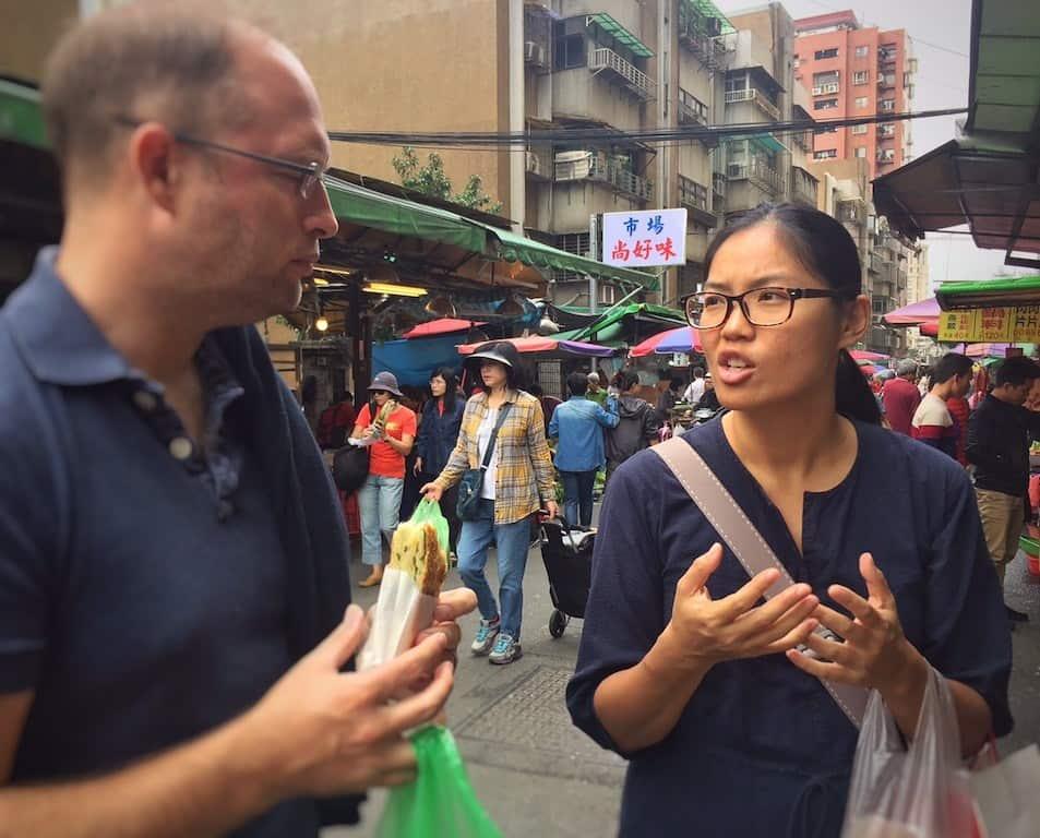 Taipei food tour with Taipei eats