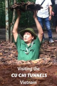 Visiting the Cu Chi Tunnels Vietnam