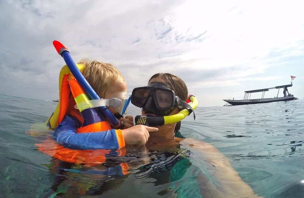Gili Islands Snorkelling with Kids