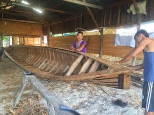 Inle Lake boat makers