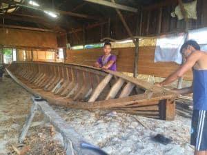 Inle Lake boat makers