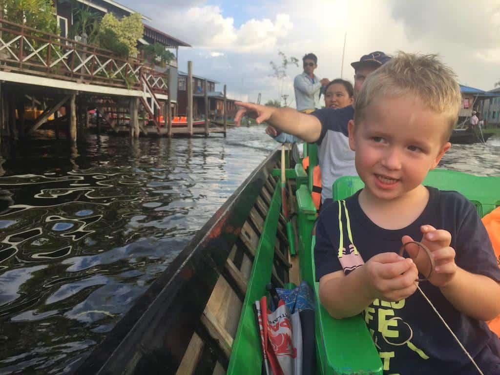 Inle Lake longboat