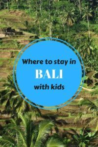 Where to stay in Bali with kids