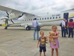 Travelling in Myanmar with kids