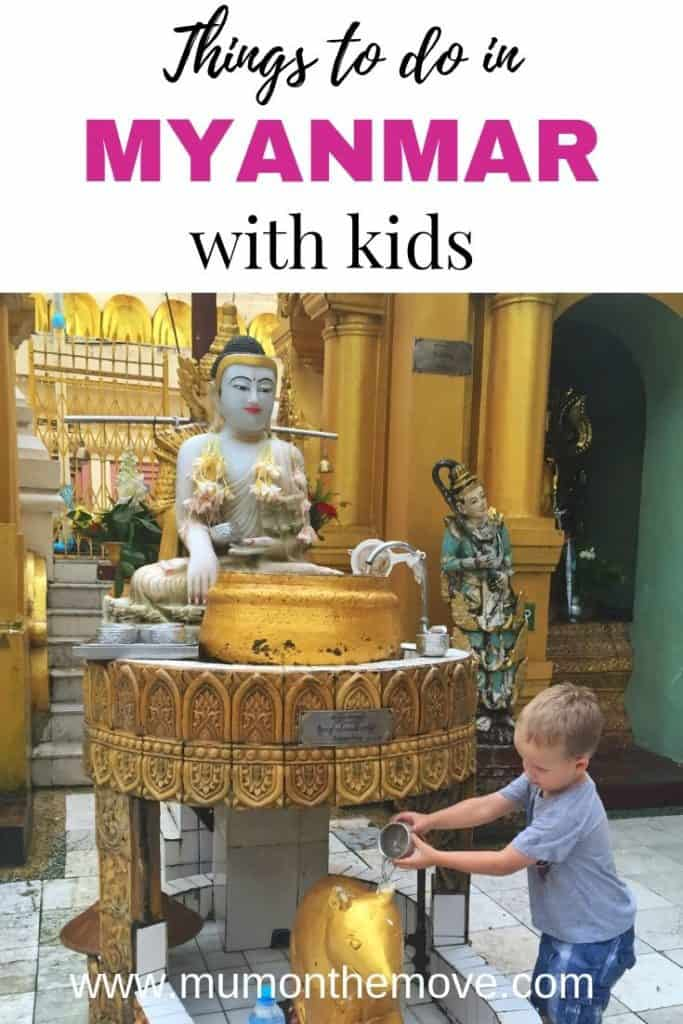 Myanmar with kids